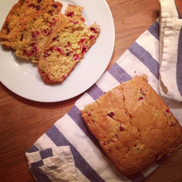 Cranberry Satsuma Bread